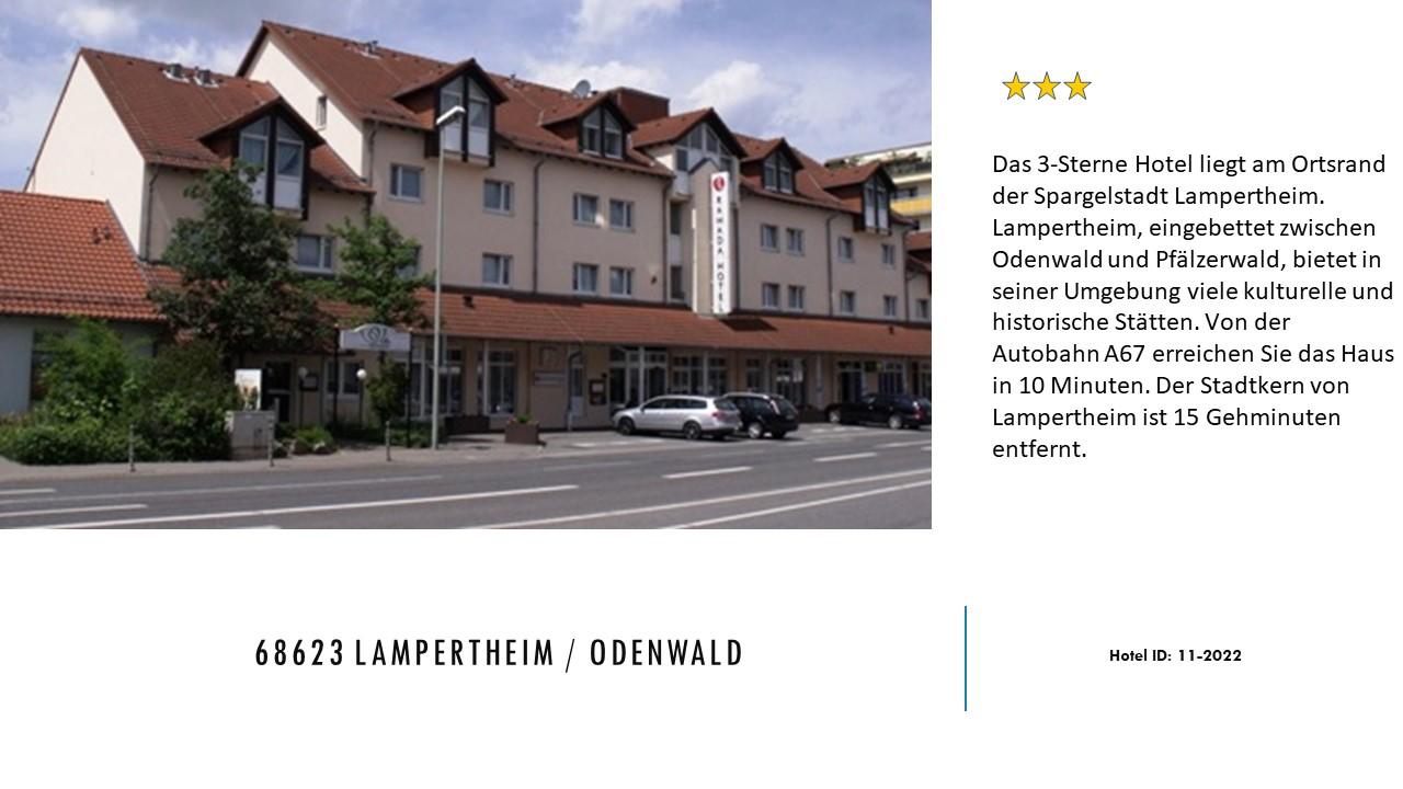 68623 Lampertheim Id 11 2022 Ehr Hotelreservation